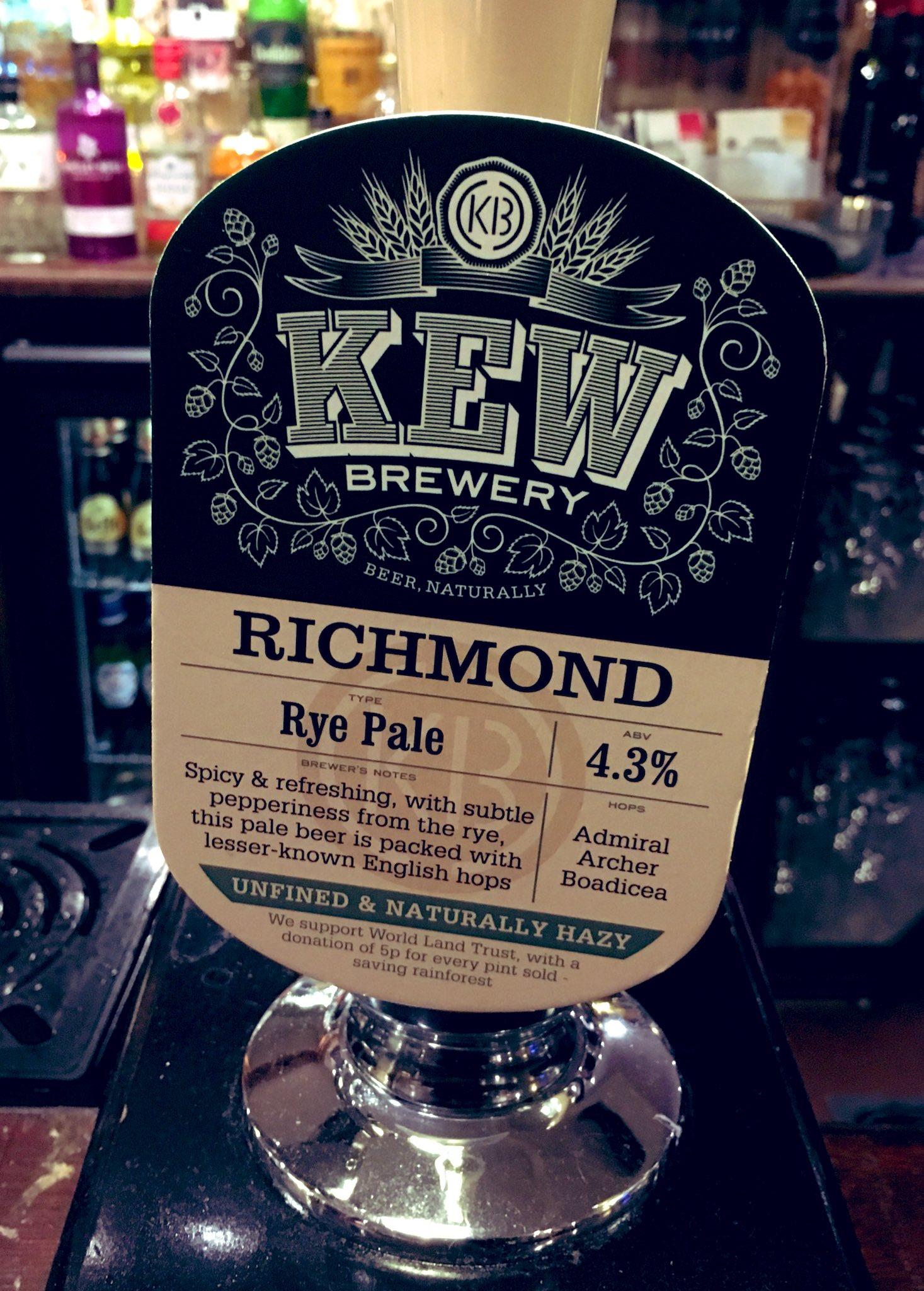 72: Richmond Rye
